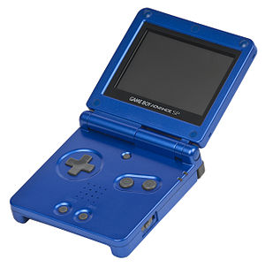 Game Boy Advance SP - Image: Game Boy Advance SP Mk 1 Blue