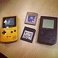 Game Boy Color and Game Boy Pocket in France 20111017.jpg