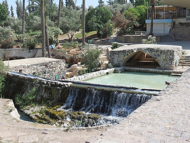 pools and waterfalls