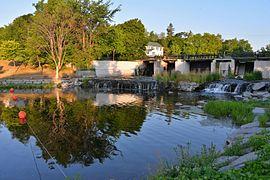 File:Gananoque Confederation Park Falls.jpg