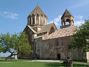Church of Caucasian Albania - Gandzasar Monastery, seat of the  Aghvank Catholicosate of the Armenian Apostolic Church until the 19th century.