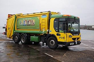 Dennis Eagle - 2011 Elite 2 refuse truck
