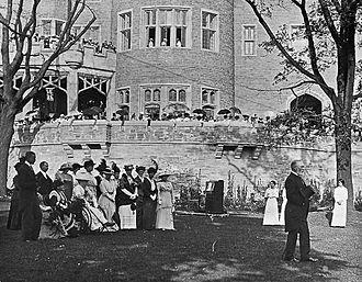 Casa Loma - Garden party at Casa Loma, 1914