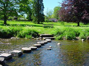 Gargrave - Image: Gargrave stepping stones