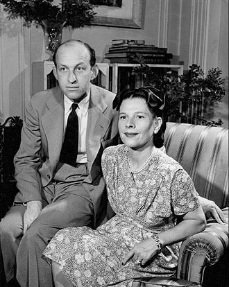 Ruth Gordon - Ruth Gordon with Garson Kanin in 1946
