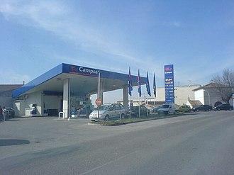 Campsa - Campsa service station in Valladolid