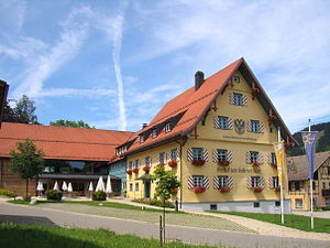 Weitnau - Gasthaus Adler in the town centre
