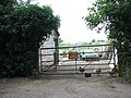 Gate into a farmyard - geograph.org.uk - 1433448.jpg