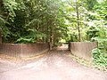 Gates to Fordell Castle woodland path - geograph.org.uk - 42273.jpg