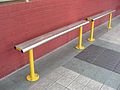 Gateshead Interchange seat, 2 December 2008.jpg