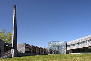 Westchester Community College - The Gateway Building on the campus of Westchester Community College in Valhalla, New York.