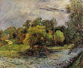 Østre Anlæg - Østre Anlæg by Paul Gauguin, 1885