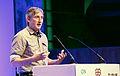 Gavin Starks, CEO of the Open Data Institute, speaking at Open Up! (8182403670).jpg