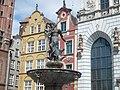 Gdańsk Główne Miasto, Fontanna Neptuna - panoramio.jpg