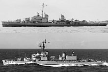 Gearing-class destroyer - Wikipedia