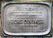 Gedenktafel Dudenstr 40-64 (Kreuzb) Georg Demmler