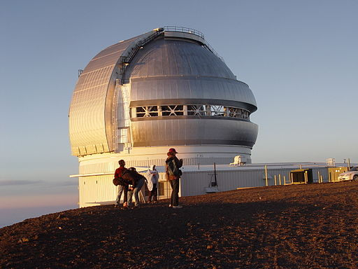 Gemini Observatory at sunset
