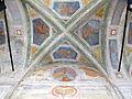 Genova, san pietro in banchi, ext., volta portico con affreschi di g.b.baiardo, 1650 ca..JPG
