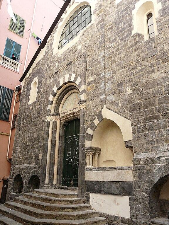 Eglise Santi Cosma e Damiano à Gènes. Photo de Davide Papalini