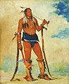 George Catlin - Wah-chee-háhs-ka, Man Who Puts All Out of Doors - 1985.66.207 - Smithsonian American Art Museum.jpg