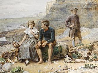 Enoch Arden - Enoch Arden (watercolour painting by George Goodwin Kilburne)