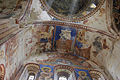 Georgia, Gelati monastery, Church of Virgin the Blessed. Mural on ceiling (dove)..jpg