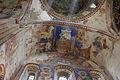 Georgia, Gelati monastery, Church of Virgin the Blessed. Mural on ceiling (dove)..jpg