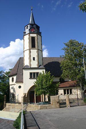 Martin Elsaesser - Lutheran church if St. George at Massenbach