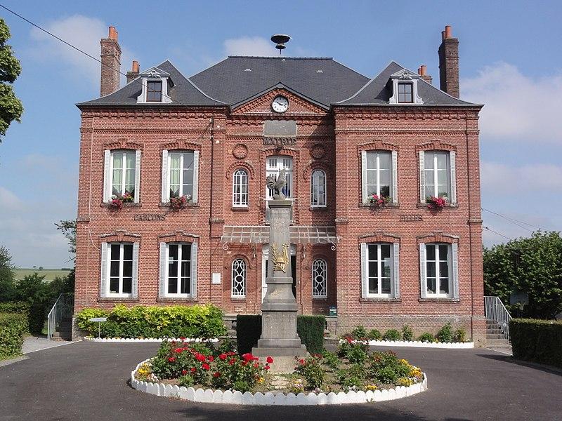 Gercy (Aisne) mairie