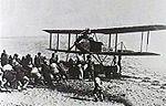 German Friedrichshafen FF.33L on Sea of Galilee 1917.jpg