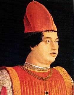 Italian noble, third son of Ludovico III Gonzaga and Barbara of Brandenburg
