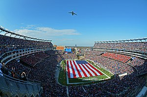 Das Gillette Stadium in Foxborough