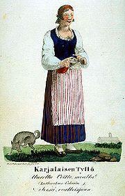 Girl from Karjala