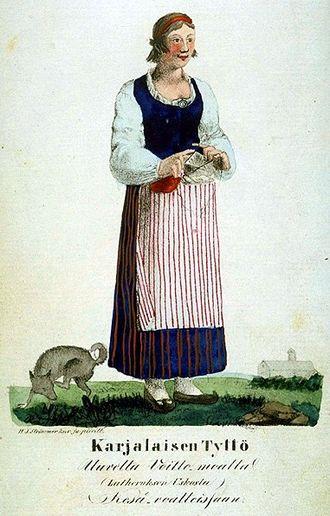 Karelians - Karelian traditional costume