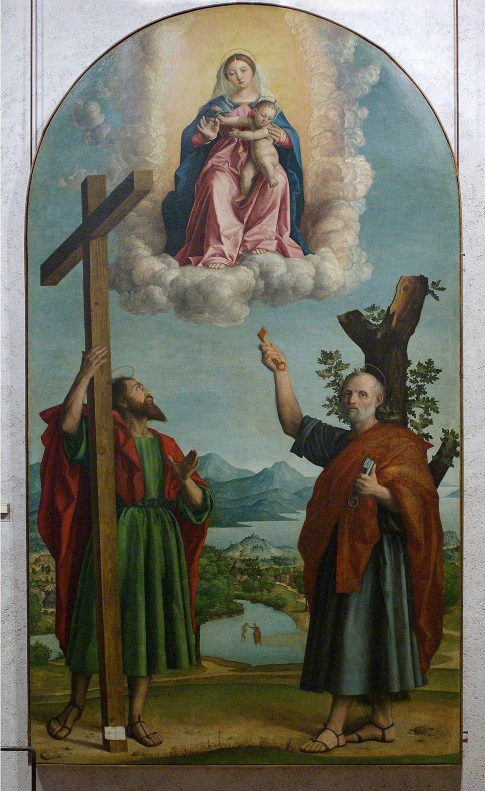 Girolamo Dai Libri - Madonna della quercia - 1533 after - Museo Castelvecchio, Verona (ITALY)