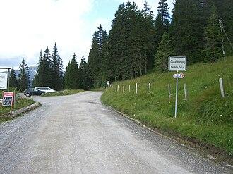 Glaubenberg Passhöhe