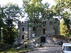 Nõmme - Image: Glehni loss 2011