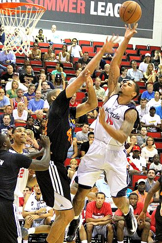 Glen Rice Jr. - Rice playing for the Washington Wizards' 2013 NBA Summer League team