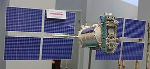 Maritime radionavigation-satellite service - Image: Glonass M small. Ce BIT 2011 Samstag PD 110