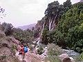 Going to near 'Bishe' Waterfall بردن وسایِل درکنار آبشار بیشه - panoramio.jpg