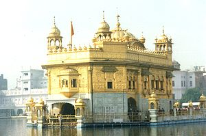 The Harmandir Sahib, a Sikh gurdwara and spiri...