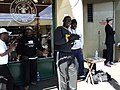 Gospel singers Pike Place Market Seattle Washington 2010.JPG