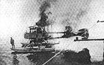 Gotha WD.7 burning Aviation and Aeronautical Engineering September 15,1916.jpg
