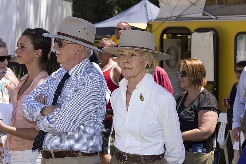 File:Governor-General of Australia, Quentin Bryce and her husband, Michael Bryce.jpg