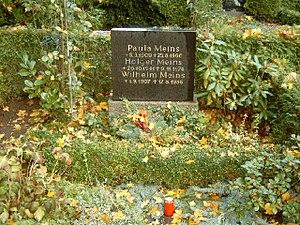 Holger Meins - Burial site for Holger Meins.