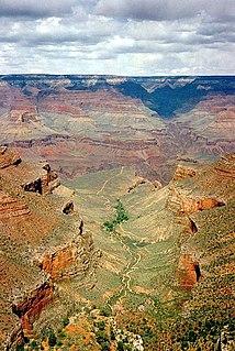 Plateau Point Trail Grand Canyon hiking trail