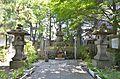 Grave of Gamou Ujisato in Koutokuji.JPG