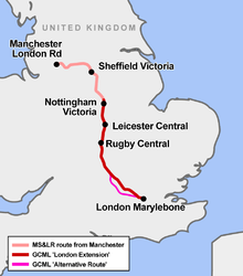 Great Central Main Line - Wikipedia