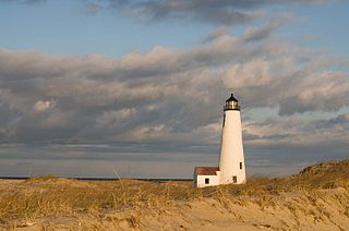Great Point Light lighthouse in Massachusetts, United States