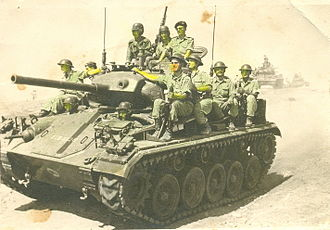 Mutual Defense Assistance Act - Greek US M24s Chaffee in 1956
